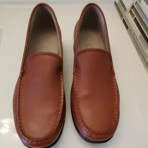 Rockport Leather Slip On Loafers , Size: 8.5W